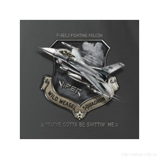 ANTONIO- Tričko se stíhačkou F-16CJ FIGHTING FALCON vel.XXL