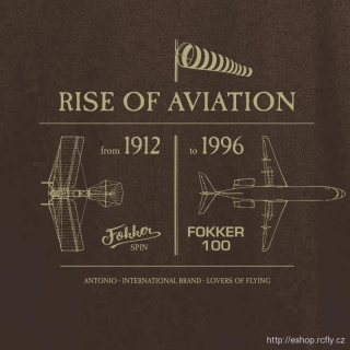 ANTONIO-Polokošile ANTHONY FOKKER - RISE OF AVIATION